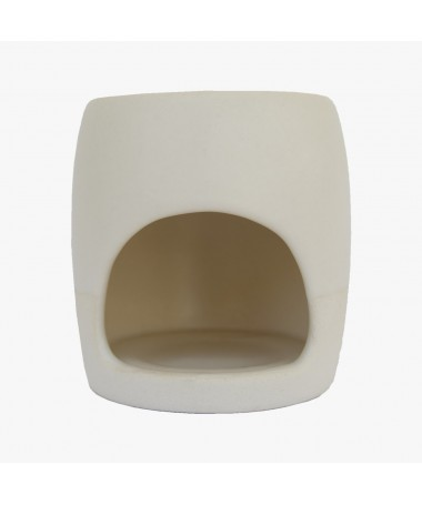 Burner for essential oils and wax in ceramic