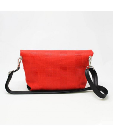 flap md tweed rosso1
