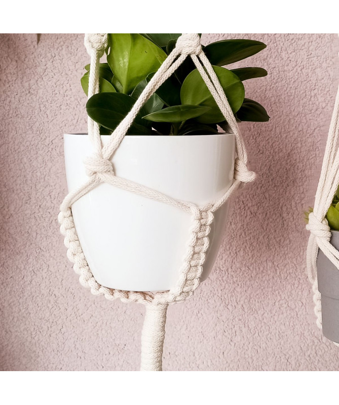 recycled cotton plant hanger