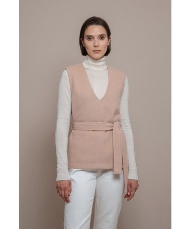 Therese Rose warm top in an alpaca-wool blend Francis Stories