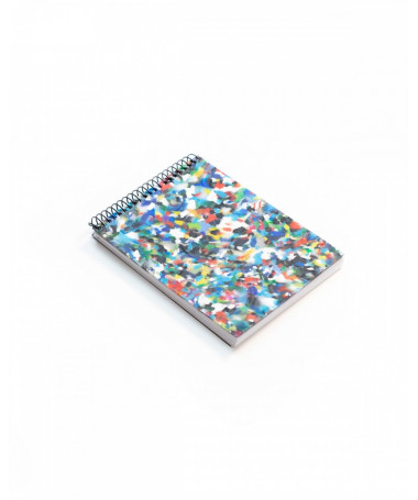 ZURI MINI Eco-friendly notebook A6 made of recycled material Ekomodo