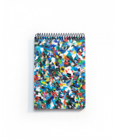 ZURI MINI Eco-friendly notebook A6 made of recycled material