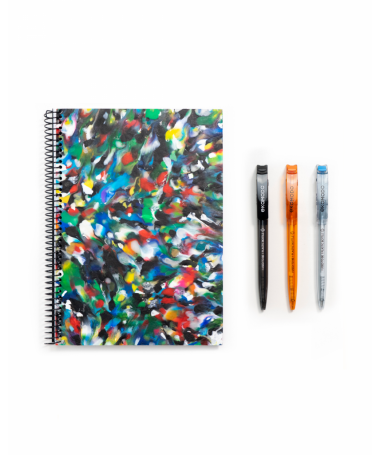 ZURIDAZ Eco notebook + pen set recycled material