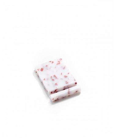 IPIN Mobile phone holder made of recycled material Red and White Ekomodo