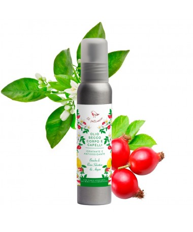 dry oil for body and hair
